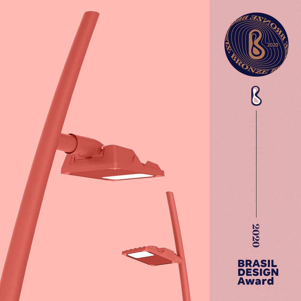 brasil design awards iluminacao publica led novvalight