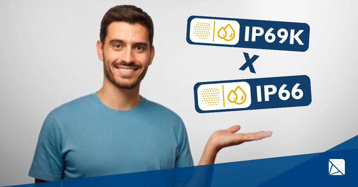 Comparativo: luminária LED IP66 ou IP69K?
