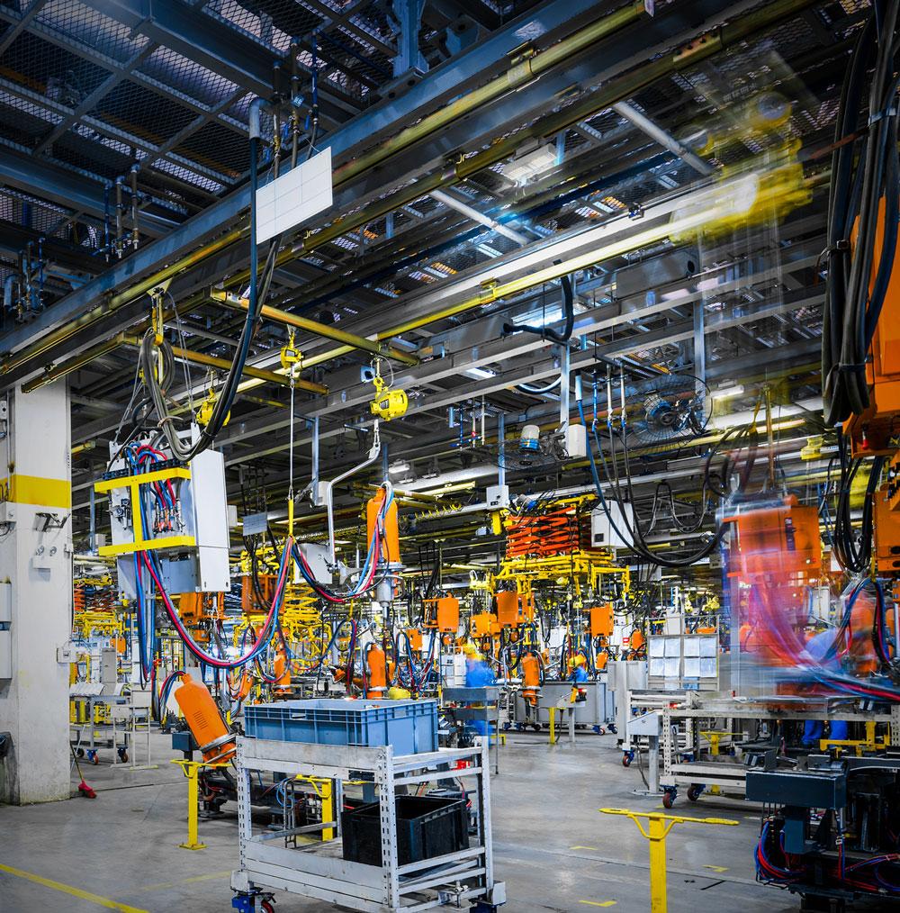 Iluminação Industrial